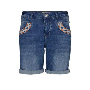 e7159a82c31c Mos Mosh Naomi Mandarin Shorts – Blue denim